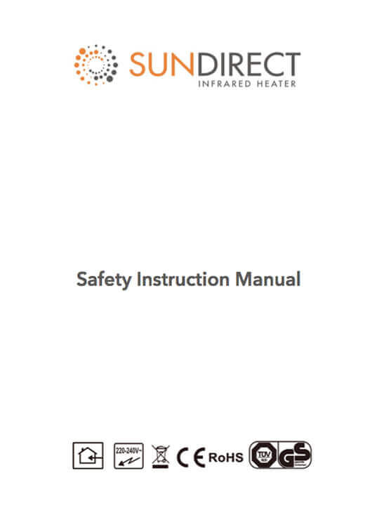 Safety instruction manual