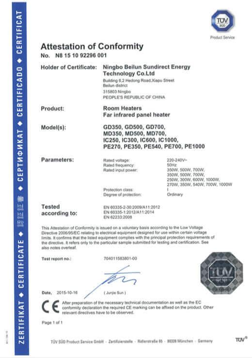 Sundirect_CE_Certification