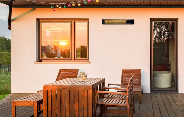 Sundirect is launching a brandnew infrared outdoor heater