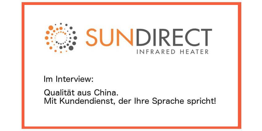 Sundirect im Infrarotheizung-Magazin von Infrarotarena