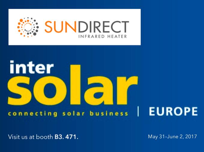 Sundirect will exhibit at Intersolar Europe