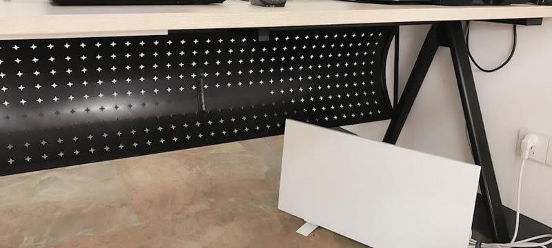 Neuer Produktlaunch von Sundirect: Schreibtischheizung IC150