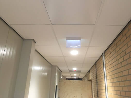 Hospital hallway, Netherlands