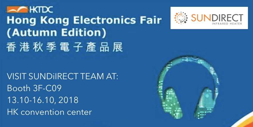 Sundirect will participate in HK electronics fair – autumn edition