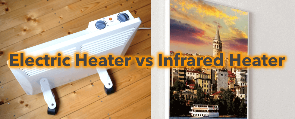 Infrared heating or traditional electric heating: What is the difference between electric heaters?