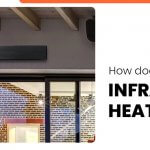 How does an infrared space heater work
